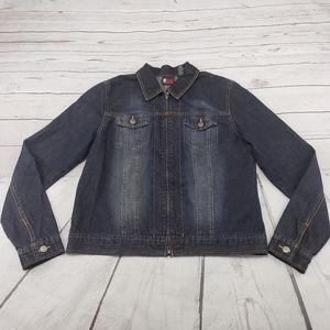 New York & Company Denim Jacket Size Large NY Jean